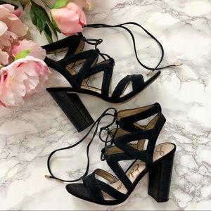 Sam Edelman Yardley suede lace up sandals